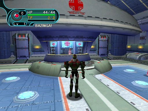 Phantasy Star Online - Medical Center - A HUcast enters the medical center