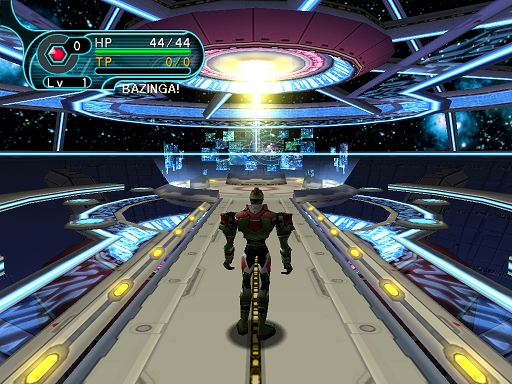 Phantasy Star Online - Principal's Office - A HUcast enters the Principal's office only to find it empty